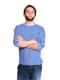 Handsome man in casual wear Stock Photo