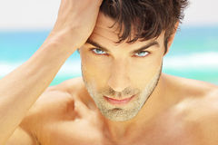 Handsome man closeup Royalty Free Stock Photo