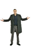 Handsome Man in coat Royalty Free Stock Photo
