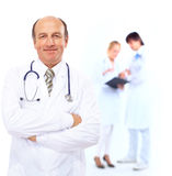 Handsome man doctor Stock Photo