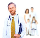 Handsome man doctor Stock Photography