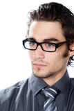 Handsome man with glasses Royalty Free Stock Photo