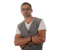 Handsome man in Glasses Royalty Free Stock Images