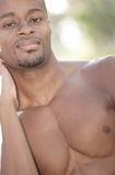 Handsome man with a goatee Royalty Free Stock Photography
