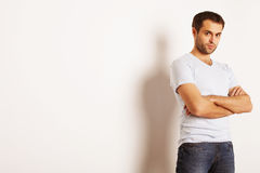 Handsome man Stock Images