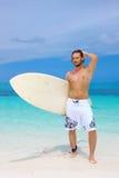 Handsome Man at Maldives Stock Images