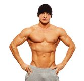 Handsome man with muscular torso Royalty Free Stock Image