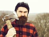 Free Handsome Man Or Lumberjack Royalty Free Stock Image - 170415006