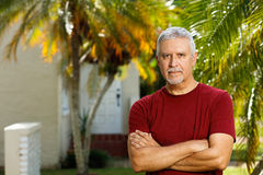 Handsome man outdoors Royalty Free Stock Photos