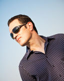 Handsome Man Outside Royalty Free Stock Photo