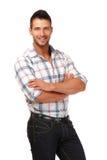 Handsome man portrait Stock Photos