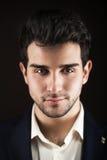 Handsome man portrait royalty free stock image