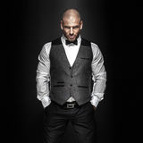 Handsome man posing. Royalty Free Stock Images