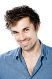 Handsome man smiling Royalty Free Stock Image