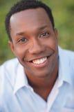 Handsome man smiling Stock Image