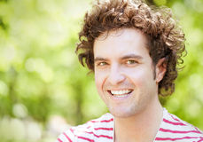 Handsome Man Smiling Royalty Free Stock Photography