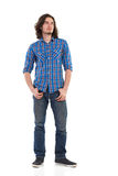 Handsome man standing and looking away Royalty Free Stock Photo