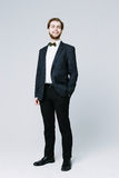Handsome man in suit Royalty Free Stock Photography