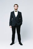 Handsome man in suit Royalty Free Stock Image