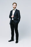 Handsome man in suit Royalty Free Stock Images