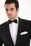 Handsome man in tuxedo Stock Photo