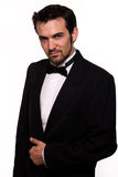 Handsome man in tuxedo Stock Image