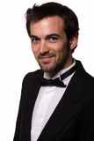 Handsome man in tuxedo Royalty Free Stock Photography
