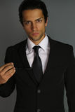 Handsome man wearing a suit Royalty Free Stock Image