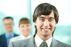 Handsome manager Royalty Free Stock Photography