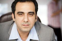 Handsome mature businessman Stock Photography