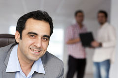 Handsome Mature Businessman Royalty Free Stock Photography