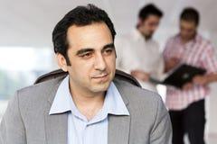 Handsome mature businessman Stock Image