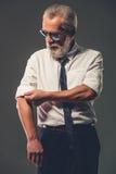 Handsome mature businessman Stock Photo
