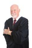 Handsome Mature Judge Stock Photo