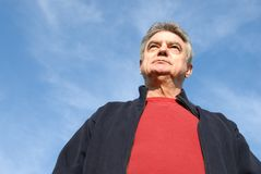 Handsome Mature Man royalty free stock photography