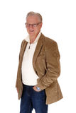 Handsome mature man standing. Royalty Free Stock Photos