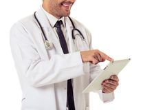 Handsome medical doctor Stock Image