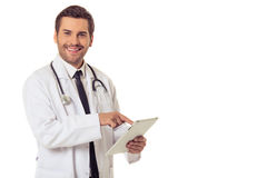 Handsome medical doctor Royalty Free Stock Images
