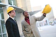 Handsome men workers Stock Photography