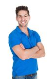 Handsome mid adult man in casuals Royalty Free Stock Image