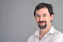 Handsome Middle-age Man Portrait Stock Photo