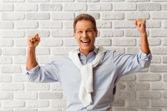 Handsome middle aged man Royalty Free Stock Photo