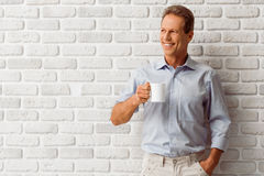 Handsome middle aged man Royalty Free Stock Image