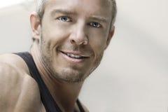 Handsome model portrait Royalty Free Stock Image