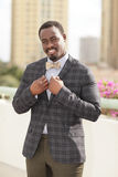 Handsome modern businessman Stock Images