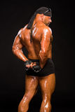 Handsome muscular bodybuilder Stock Photography