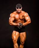 Handsome muscular bodybuilder Stock Image