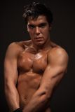 Handsome muscular man Royalty Free Stock Images