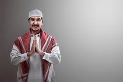 Handsome muslim man Royalty Free Stock Photos
