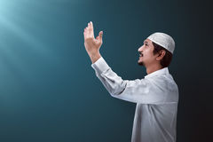 Handsome muslim man Royalty Free Stock Images